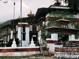 Kurjey temple complex Bumthang