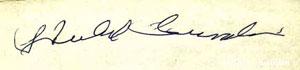 Hubert Sumlin's autograph