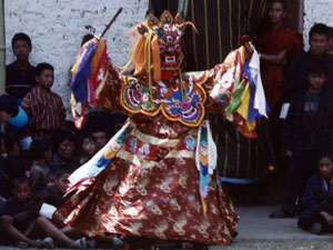 Bhutanese Monk Dancer 2004