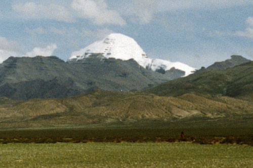 South face of Mount Kailas