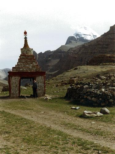 Gateway chorten to Kailas kora