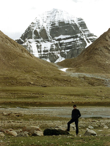 Derek at north face of Kailas