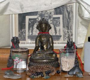 Guru Rinpoche, Buddha Dipankara & Dolma